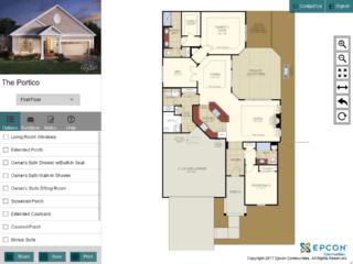 Epcon Communities | Portico Model Interactive Floor Plan - Thumbnail